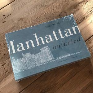 Matteo Pericoli Manhattan unfurled New In Package